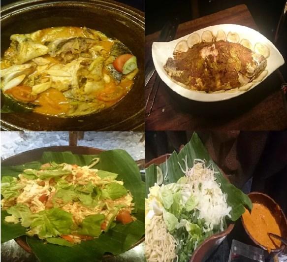 Menu Tetap Masakan Indonesia di Signatures Resto