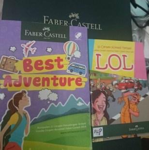 2 Buku yang telah dilombakan Faber-by Sari Novita
