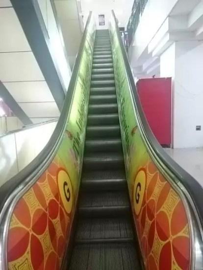 tangga eskalator sarinah by Sari Novita