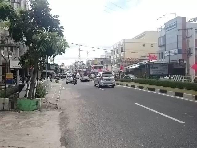 Jalanan Kota Pangkalpinang