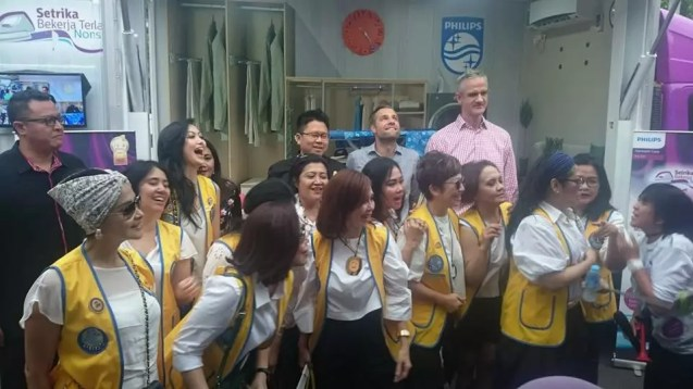 Philips Bersama Lions Club kalingga
