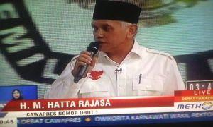 Debat Hatta Rajasa