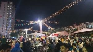 Food Truck Festival di Malam Hari