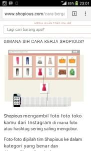 Shopious belanja Online