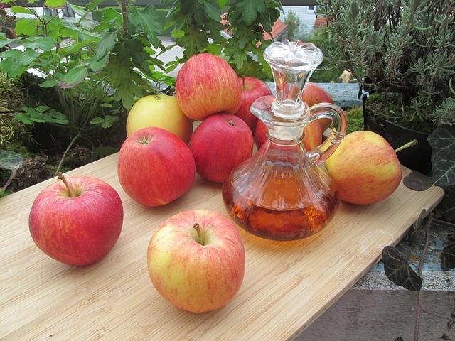 リンゴ酢の効能・効果や美味しい飲み方と作り方!ダイエットに最適!