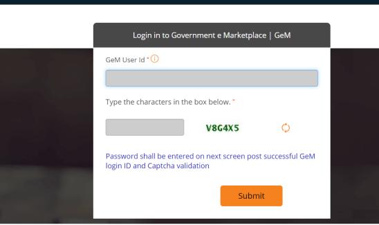 GeM Login- gem.gov.in Login Portal,Government e-market place