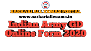 Indian Army Women GD Online Form 2020