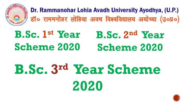 RMLAU BSc Scheme 2020