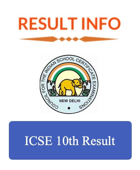 ICSE 10th Result 1
