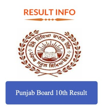Punjab Board 10th Result 2020