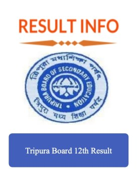 Tripura Board 12th Result