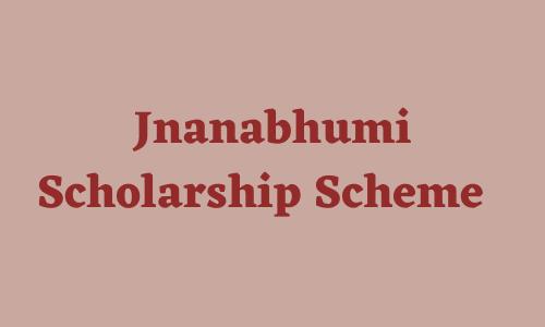 Jnanabhumi Scholarship Status