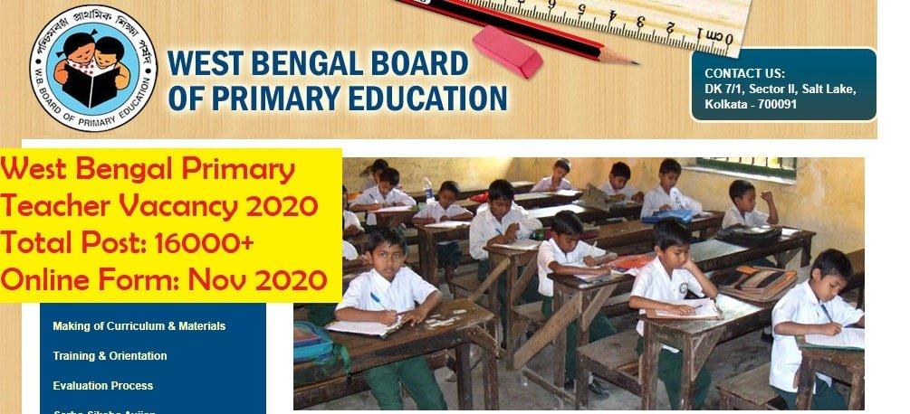 West Bengal Teacher Vacancy