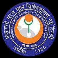 kalawati saran children's hospital logo