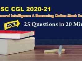 Reasoning-Online-Mock-Test