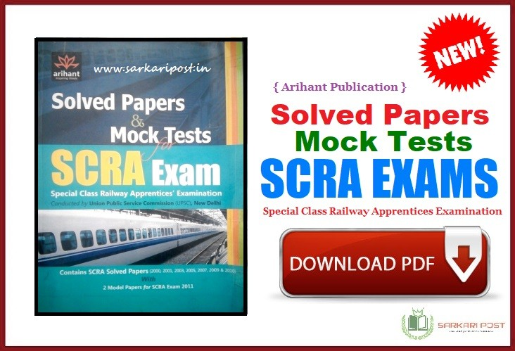 SCRA Exam Solved Papers