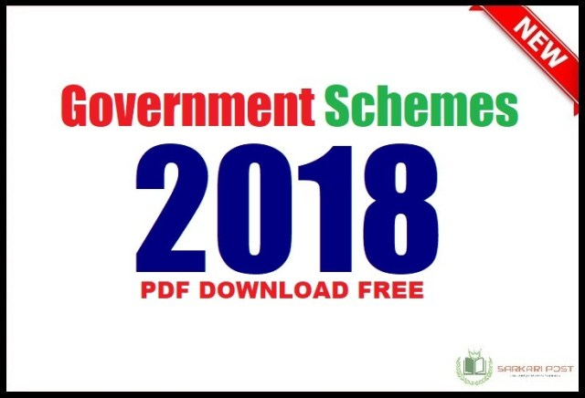 Government Schemes 2018 Pdf