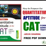 Quantitative Aptitude For CAT Exam
