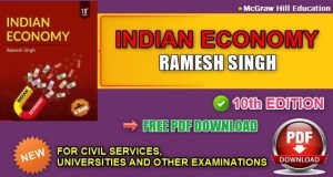Indian Economy Book by Ramesh Singh 10th Edition