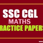 SSC CGL Maths Practice Papers Set