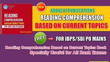 Reading Comprehension Based on Current Topics