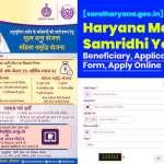 saralharyana.gov.in-Haryana-Mahila-Samridhi-Yojana