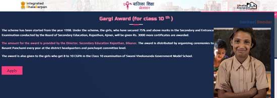 Rajasthan-Gargi-Puraskar-Yojana-Apply-Online