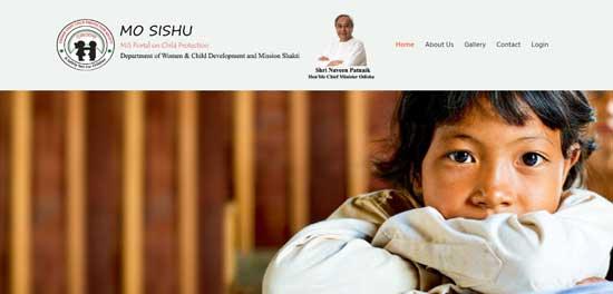 Odisha-Mo-Sishu-Portal-Website