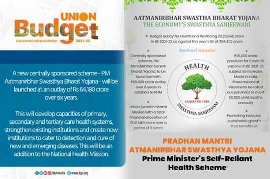 Pradhan Mantri Atmanirbhar Swasth Bharat Yojana