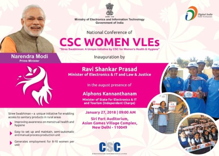 Stree Swabhiman Initiative CSC Women Health Hygiene