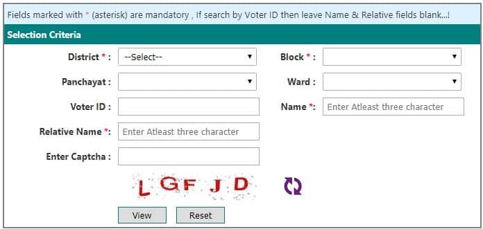 Voter List Pdf Bihar