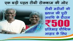 Nikshay Poshan Yojana 2020 Registration / Enrollment Form for TB Patients