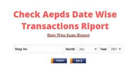 aepds date wise transactions