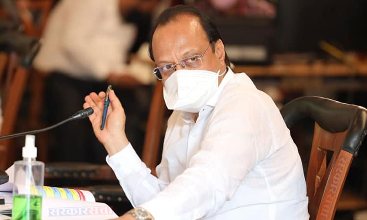 Ajit Pawar   those who got two doses of vaccines they should have permission to roaming says ajit pawar