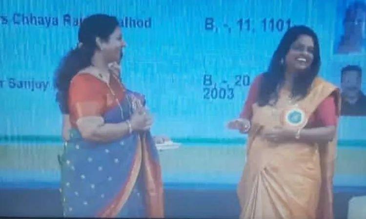 MHADA Lottery 2021 | mhadas female Chaya Rajesh Rathod employee also became the winner in todays draw