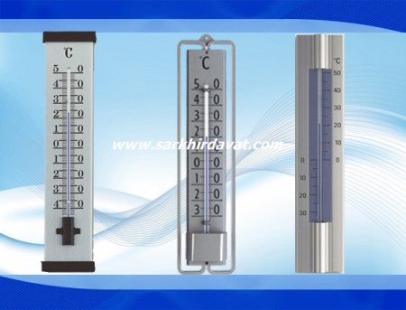 Ahşap Duvar Termometresi