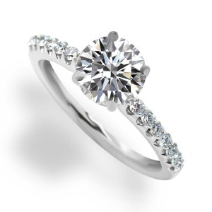 engagement ladies center diamond ring