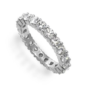 Gold Wedding Eternity ring
