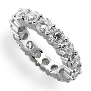 16 Diamonds Ladies Wedding Eternity Ring