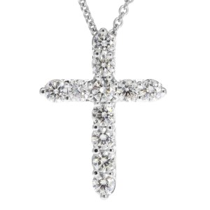 Diamond Cross Pendant PN686-7