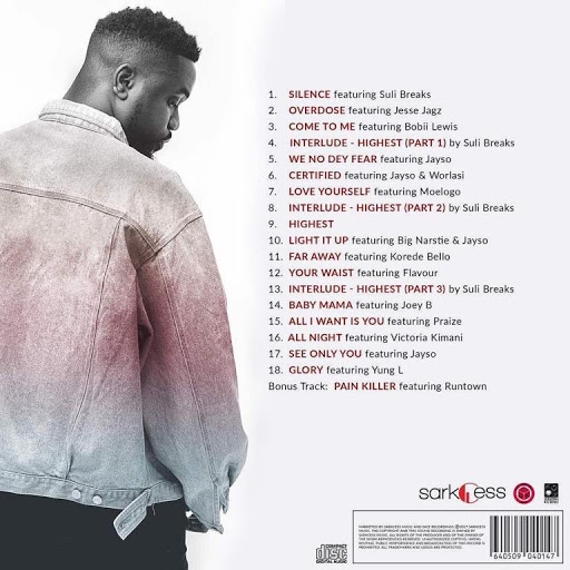 Sarkodie - Interlude - Highest (Part 2) ft. Suli Breaks (Prod. by Jayso) [Audio Slide]