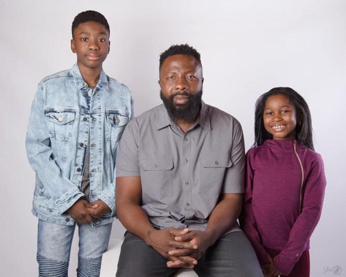 Joseph Awinongya Jnr ,Father And the Sister