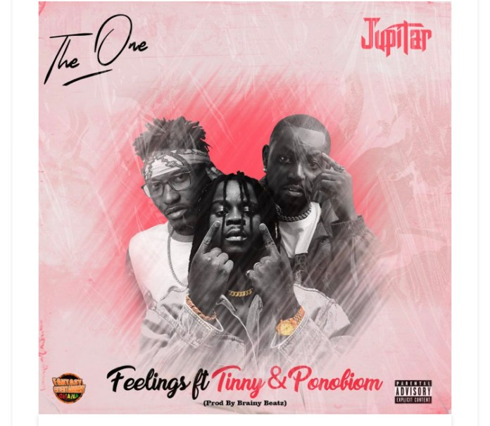 Download MP3: Jupitar – Feelings ft Tinny x Yaa Pono
