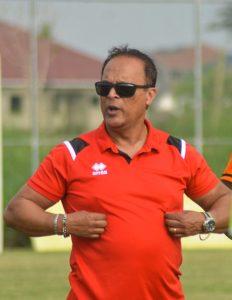 Mariano Barreto. Not Dreams FC Asante Kotoko Playing against GFA.