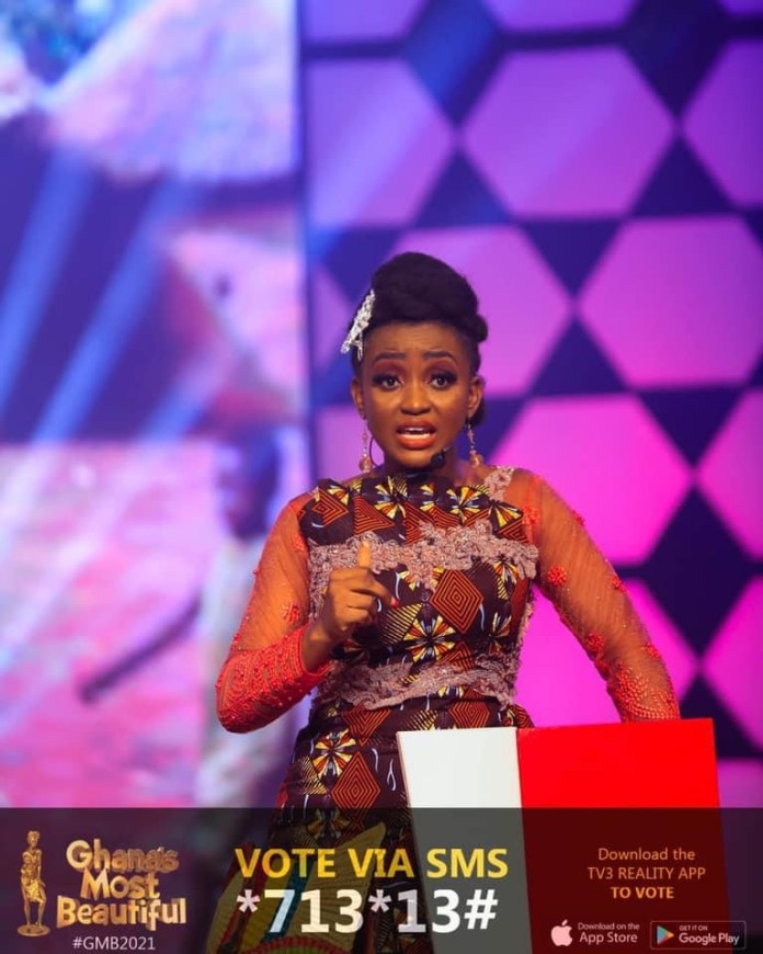 GMB 2021: Wedaga of the Upper East wins both star performer and most eloquent together last night, setting a new record.