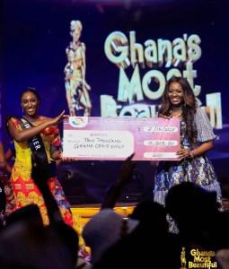 GMB 2021: Sarfoa from Ashanti Region Crowns Ghana's Most Beautiful 2021
