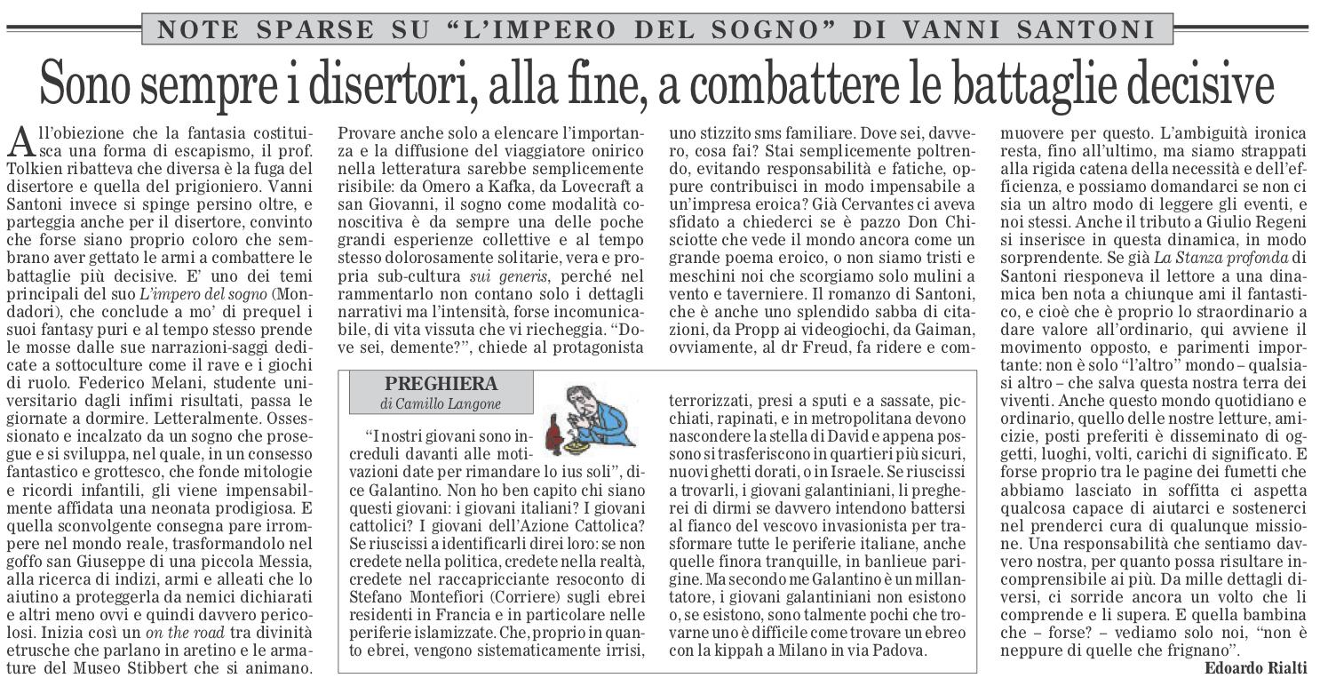 ... e Ilaria Giannini per Cose belle magazine – nonché una recensione  radiofonica della Stanza profonda 9d051053626