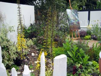 An artist's garden explores relationship between gardening and art