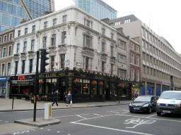 THE GLOBE, ON CORNER OF LONDON WALL AND MOORGATE