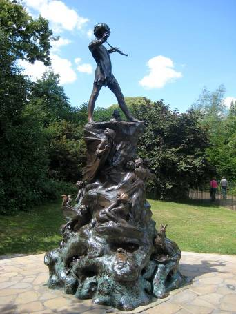 Bronze of Peter Pan